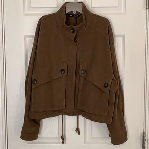 ZARA cool linen/cotton jacket
